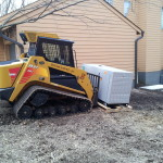 Setting a 36kW Generac Generator with an ASV skid-steer loader